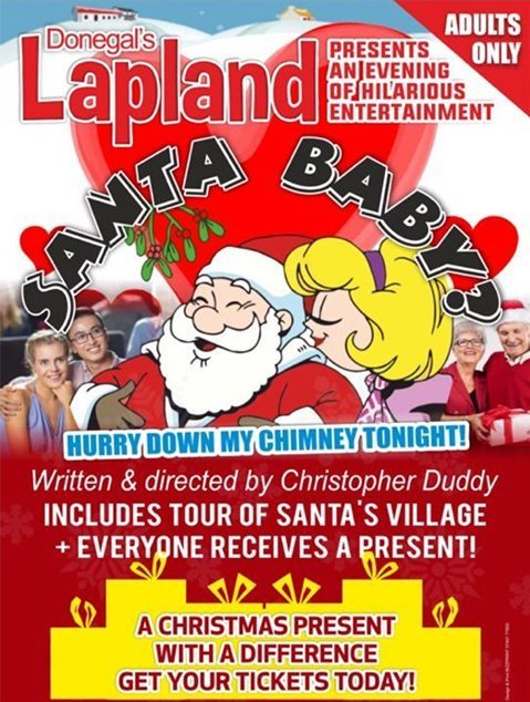 Santa Baby live Christmas show for adults